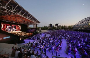 Milano, 4 grandi show <br> all'Open Air Theatre