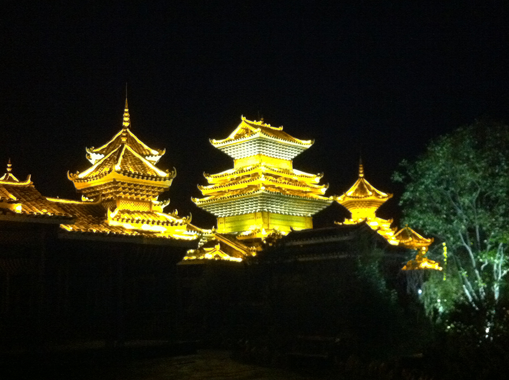 54 - Zhaoxing by night
